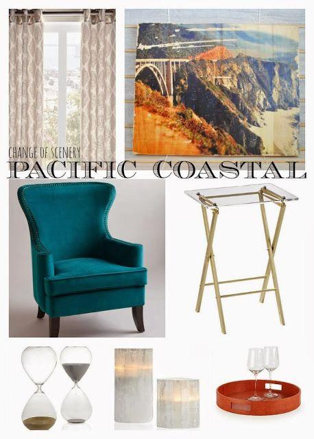 reading nook, corner chair, world market, monterey, living room design ideas, change of scenery