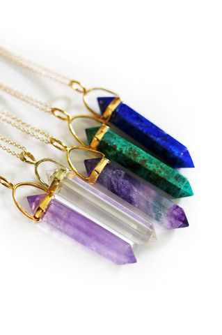 pencil point necklaces