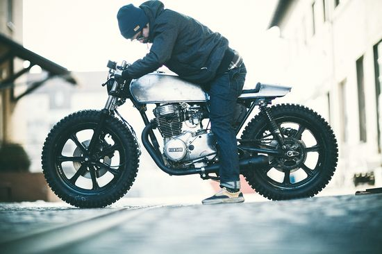 Custom Yamaha XS360 by The Hookie ~ Return of the Cafe Racers