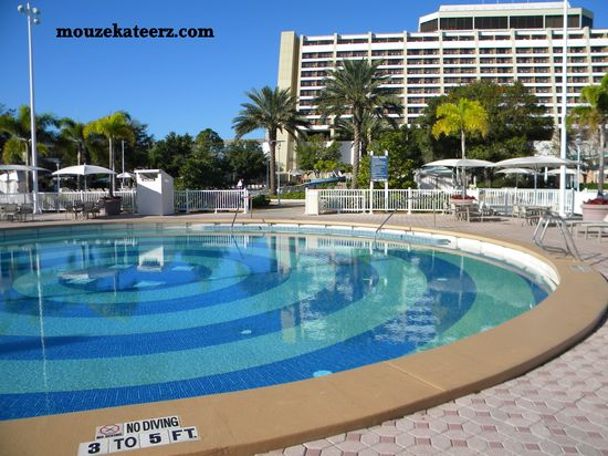 Amazin' Disney Resorts: The Quiet Pool at Disney's Contemporary Resort