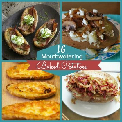 16 Mouthwatering Baked Potatoes
