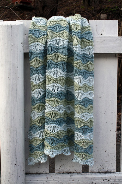 Beautiful pattern for a baby blanket