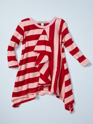 Ruffle tunic Joah love kids