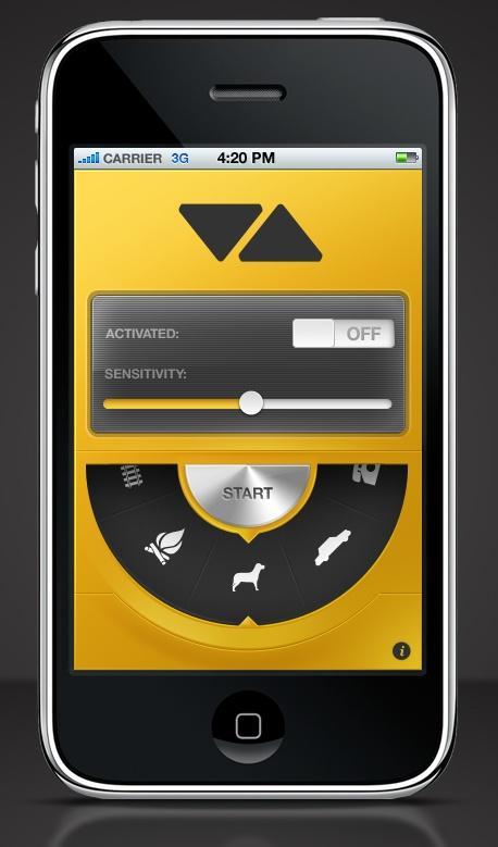 Visualert iPhone App