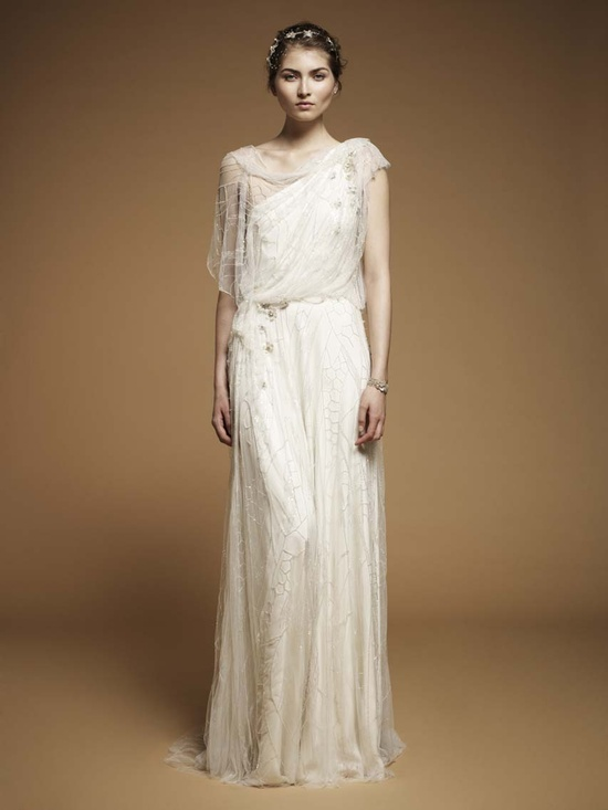 Jenny Packham goddess wedding dress