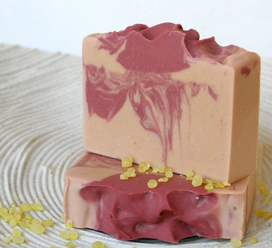 Chios Mastic & Pomegranate Natural Cold process Soap-based on Greek Olive Oil