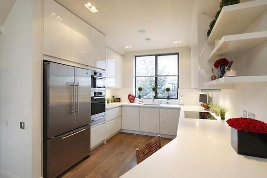 U Shaped Kitchen #kitchen design #kitchen decorating before and after #living room design #kitchen interior design #kitchen design