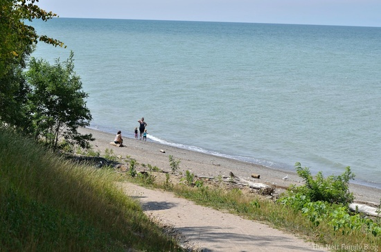 Lake Erie Bluffs via @Willoughby Today