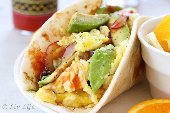 Super Soft California Breakfast Burrito by livelivetoo #Breakfast #Burrito