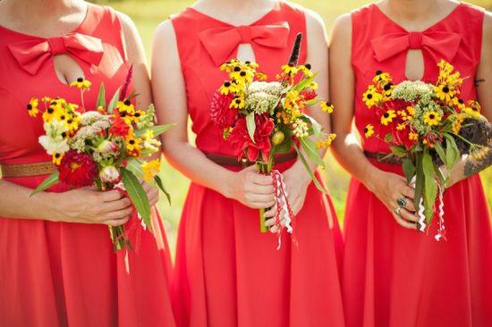 Wild flower bouquets. ?