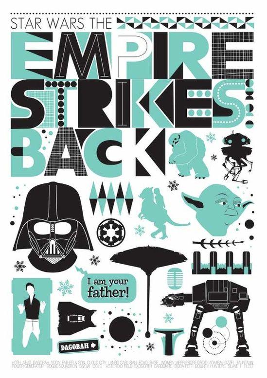 Star Wars - The Empire Strikes Back by Jan Skácelík