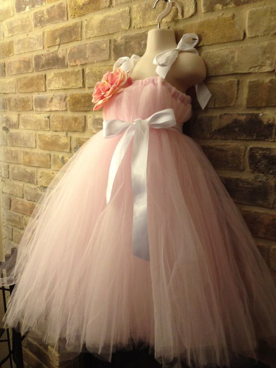 Cute flowergirl dresses via etsy