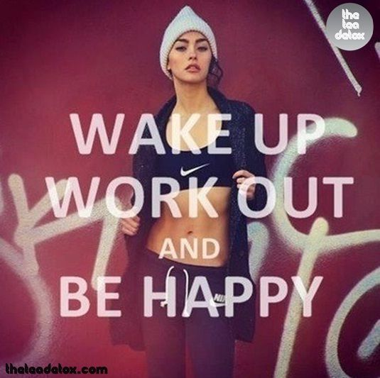Work Out and Be Happy!!