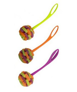 Casabella Loop Sponge Brush - Perfect for cleaning delicate holiday serving pieces.