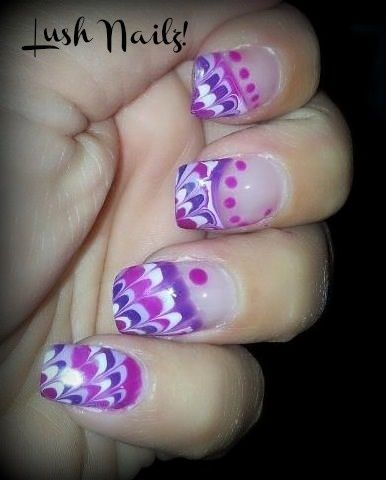 Purples! - Nail Art Gallery by NAILS Magazine