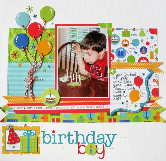 Birthday Boy - Scrapbook.com