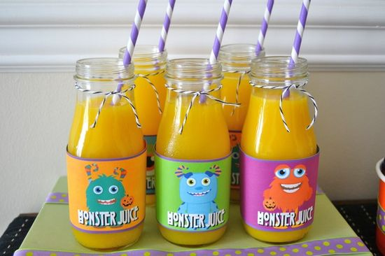 Drinks at a Monster Party #monster #party