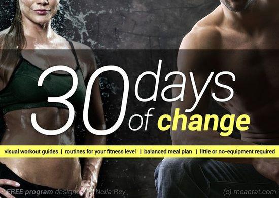 30 days of change - Imgur