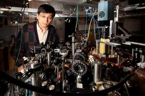 """Ultracold Big Bang experiment successfully simulates evolution of early universe. """"At this ultracold temperature, atoms get excited collectively. They act as if they are sound waves in air,"""" he said. The dense package of matter and radiation that existed in the very early universe generated similar sound-wave excitations, as revealed by COBE, WMAP and the other experiments.   """"And in the beginning there was the Word."""""""