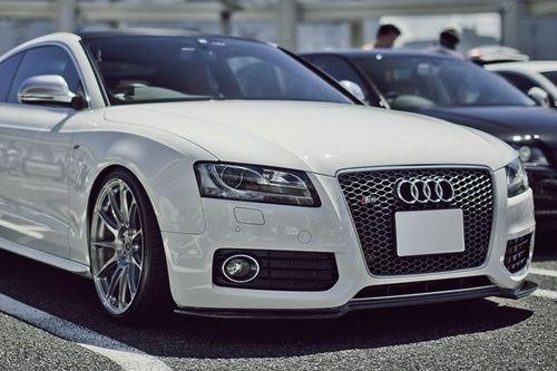 audi, sports car, white, fast, beautiful?