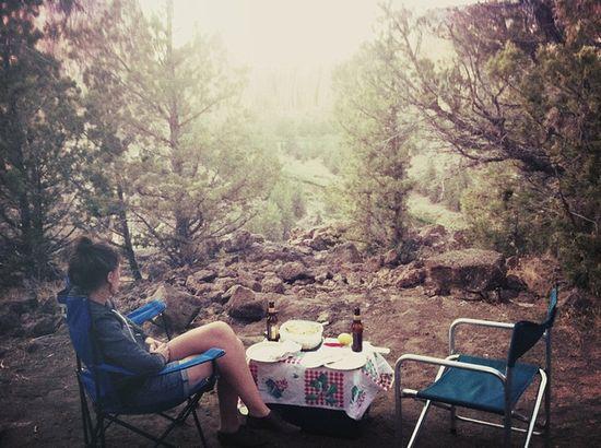 woods, beers & food