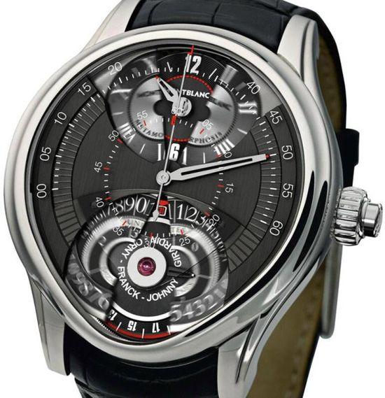 Montblanc TimeWriter 1 Metamorphosis Watch Transforms