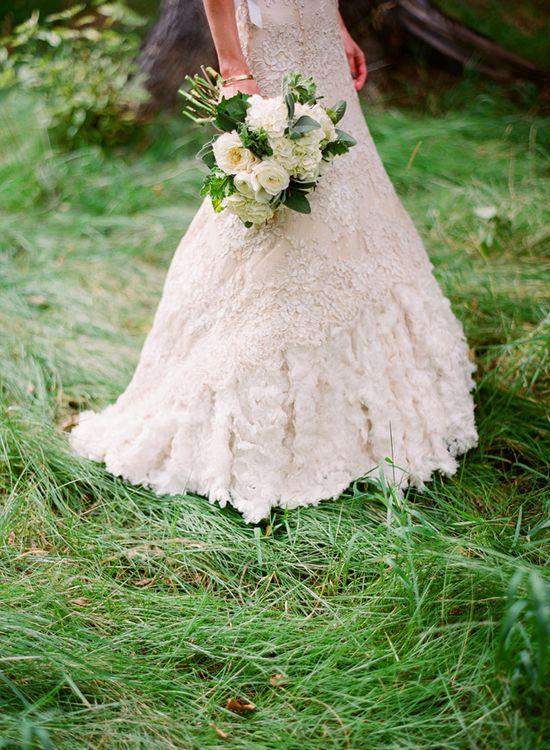 Lace and ruffles - just beautiful.