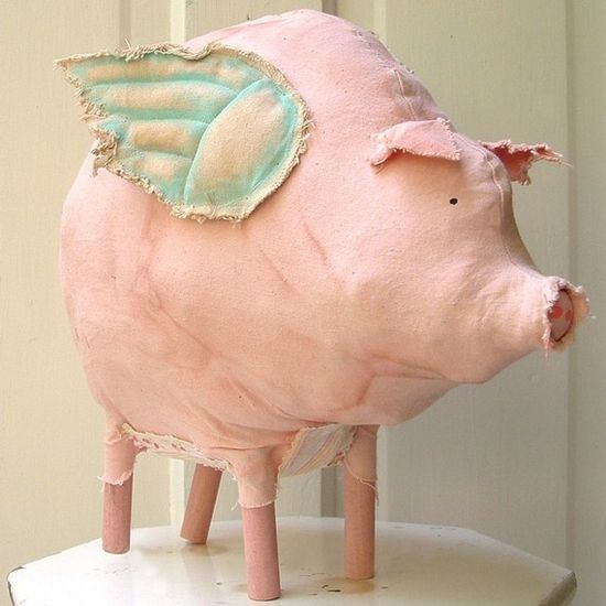 What could be better than a pink pig!