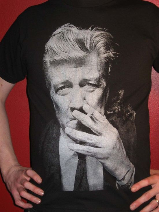David Lynch Now TShirts Size Small by SleazySeagull on Etsy, $24.99