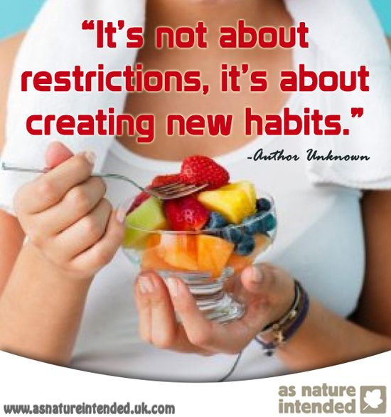 If you eat junk your body will crave junk!  If you eat healthy your body craves health and you'll also feel amazing!