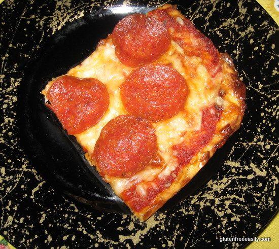 Flourless pizza (GF)