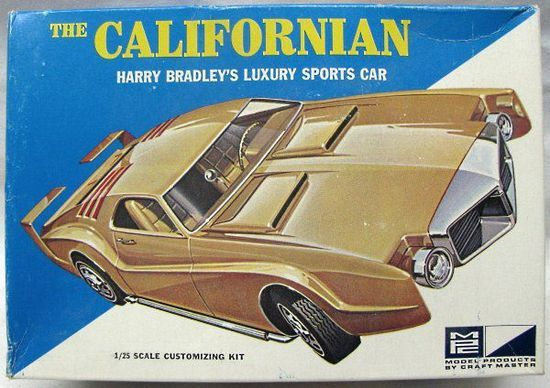 MPC - The Californian - Harry Bradley's Luxury Sports Car (Oldsmobile Toronado Show