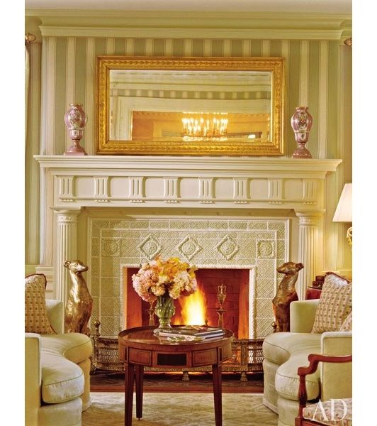 Fireplace design idea - Home and Garden Design Ideas