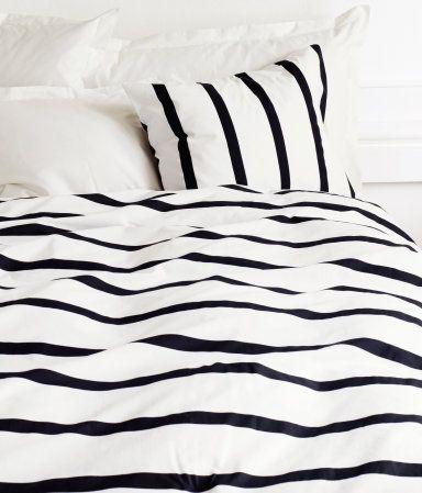 Sleeping in stripes.