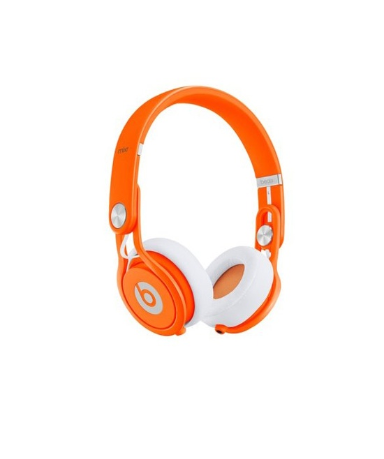#beats #headphones #mixr #neon #orange www.gearclubdirec...