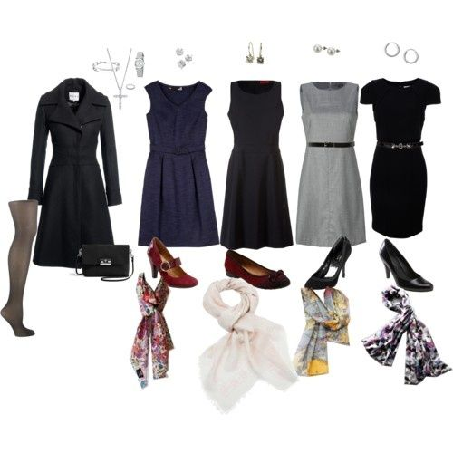 Work Outfits - Winter Dresses