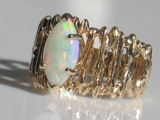 opal + gold
