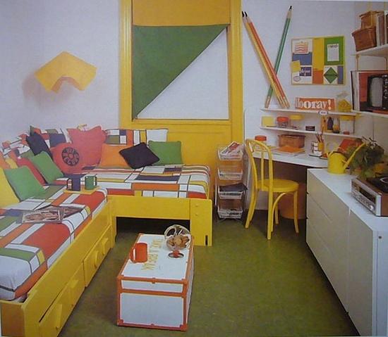 mod kids room