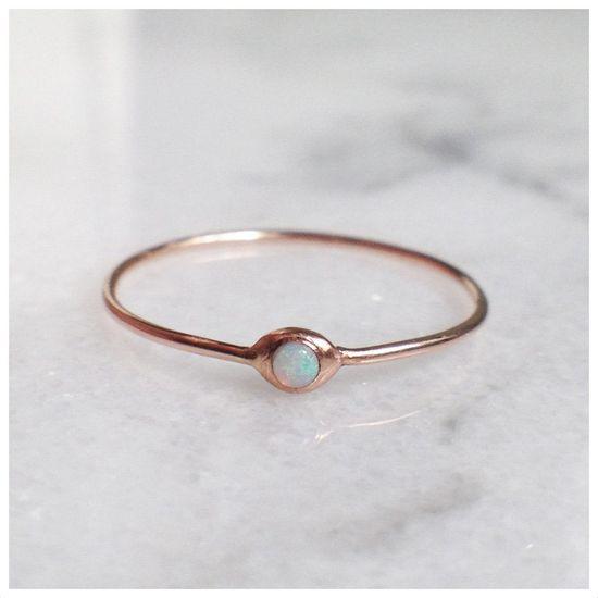 Opal Pip Ring