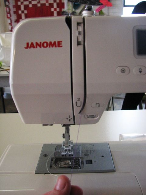 sewing machine tutorial for the clueless