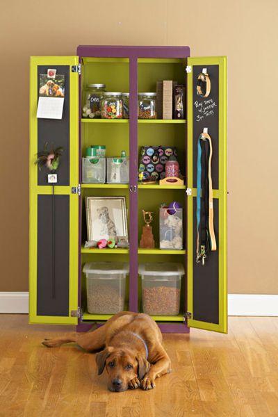 Pet Supplies Organized