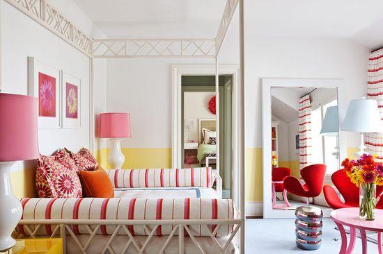Great teen bedroom!  Interior design by Christina Sullivan Roughan.