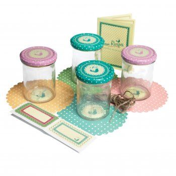 Vintage Style Jam Making Kit