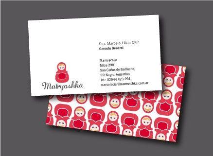 matryoshka business card