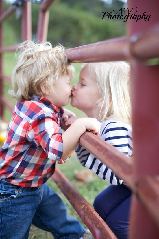 #kiss #love #kids #photography #fall