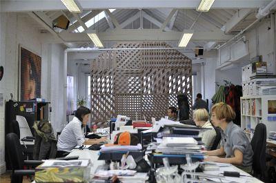 richard shed: office divider