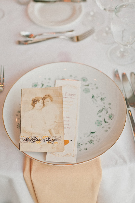place cards (photo by Sweet Little Photographs)