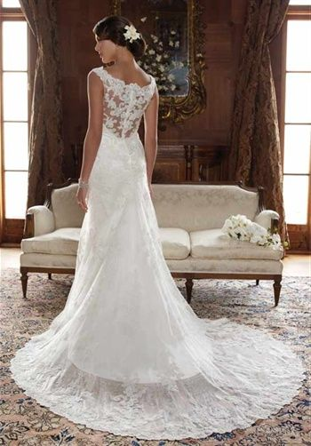 lace on wedding dresses are my favorite :)