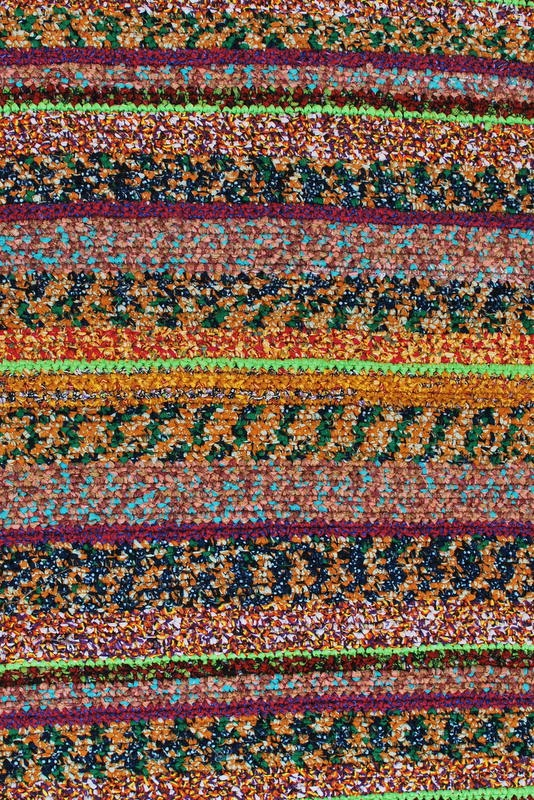 Handmade rug from Uganda