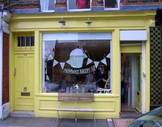 Primrose Bakery, Primrose Hill, London.